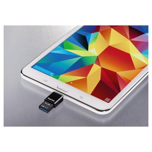 Hama 64GB Canny USB 3.0 Flash Drive - 70MB/s