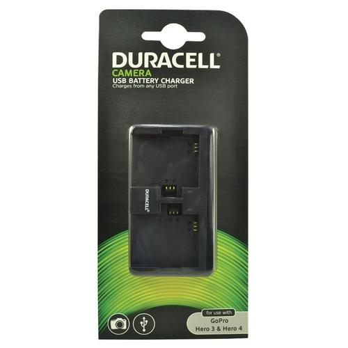 Duracell GoPro Hero 3 & 4 Dual Slot Charger