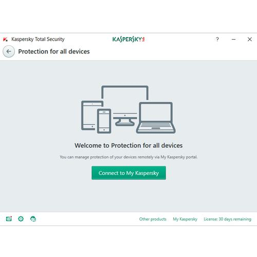Kaspersky Total Security 2018 5 Devices 1 Year