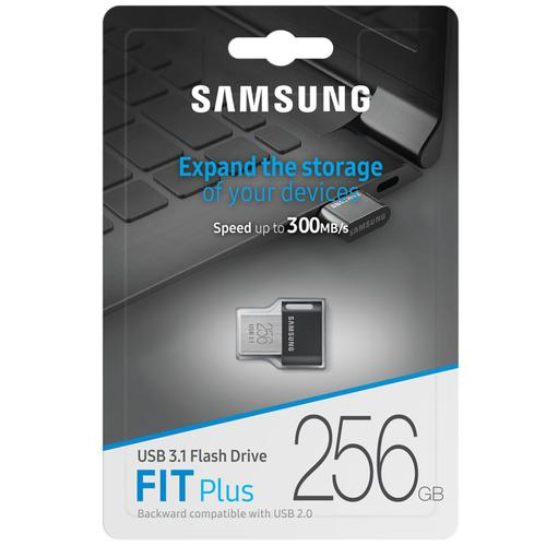 Samsung 256GB Fit Plus USB 3.1 Flash Drive - 300Mb/s
