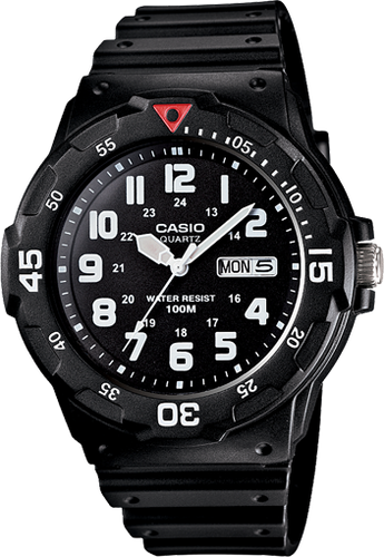 Casio Analogue Mens Watch (MRW200H-1B)