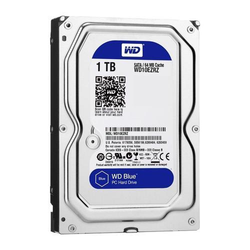"""WD Blue 1TB 3.5"""" HDD SATA III Internal HDD 6Gb/s 64MB"""