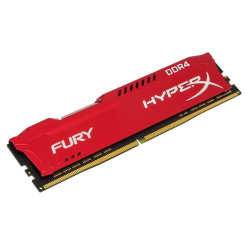 Kingston HyperX FURY Red 64GB (4x16GB) Memory Kit 2933MHz DDR4 CL17 288-PIN DIMM 1.2V