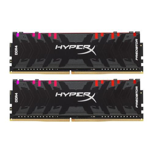 HyperX Predator 16GB (2x8GB) Memory Kit PC4-19200 2400MHz DDR4 CL12 288-Pin DIMM 1.35V