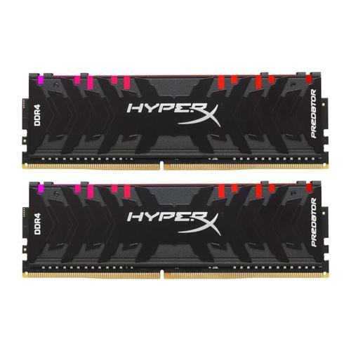 HyperX Predator 16GB (2x8GB) 2400MHz DDR4 Non-ECC 288-Pin CL12 DIMM PC Memory Module