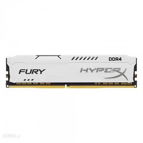 HyperX FURY White 8GB (1x8GB) Memory Module PC4-27700 3466MHz DDR4 CL19 288 Pin DIMM 1.2V