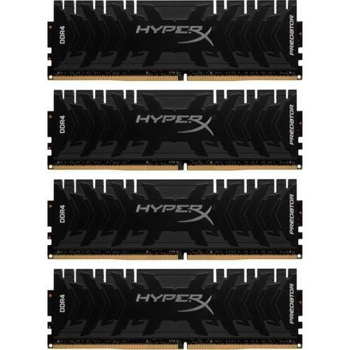 Kingston HyperX Predator 64GB (4x16GB) Memory Kit 3600MHz DDR4 CL17 288-Pin  DIMM 1 35V
