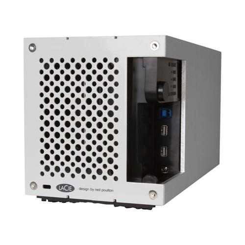 LaCie 12TB 2big Thunderbolt 2/USB 3.0 420MB/s 2-Bay HDD Array Silver