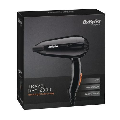BaByliss Travel Hair Dryer