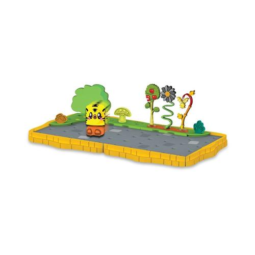Bobble Bots Moshi Monsters Large Starter Set - Cobblestone Garden