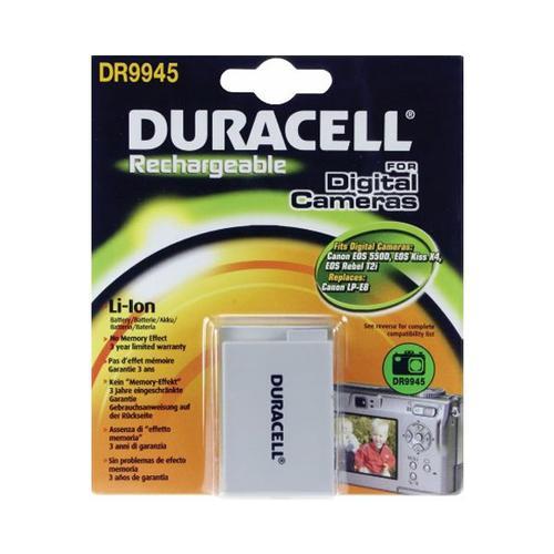 Duracell Canon LP-E8 Camera Battery