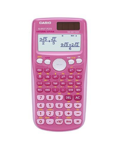 Casio Scientific Calculator - Pink