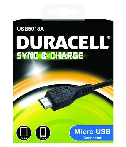 Duracell Micro USB Sync and Charging Cable