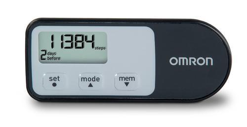 Omron Tri-Axis Pedometer - Black (HJ-321)
