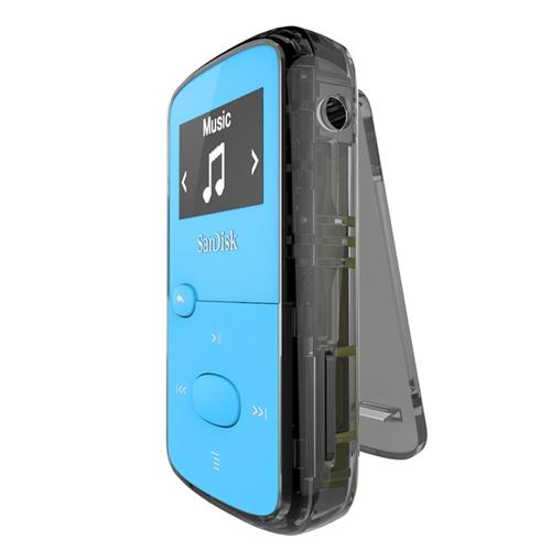 SanDisk Clip Jam 8GB MP3 Player - Blue