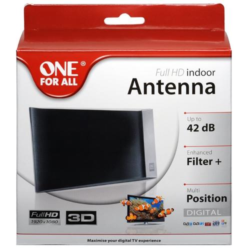 One For All 42DB Full HD Indoor TV Antenna (SV9335)