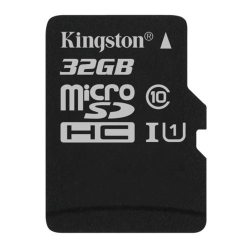 Kingston 32GB Micro SDHC Karte Class 10 UHS-1 (exkl. Adapter) - 45MB/s