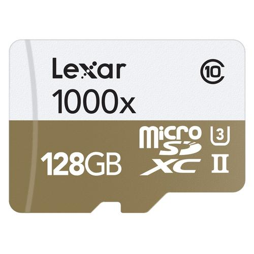 Lexar 128GB Professional Micro SD Card (SDXC) + Card Reader - 150MB/s