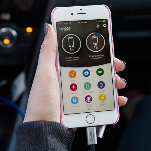 Lexar 64GB C20i 3 in 1 iPhone/iPad OTG USB 3.0 Flash Drive - 95MB/s
