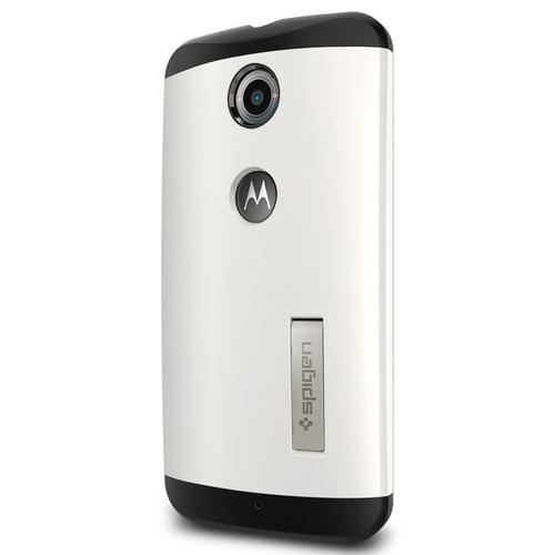 Spigen Slim Armor Nexus 6 Case - Shimmery White