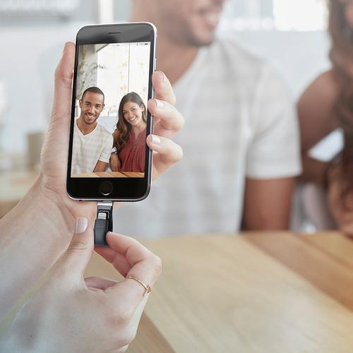 SanDisk 128GB iXpand V2 OTG Speicherstick für iPhone und iPad