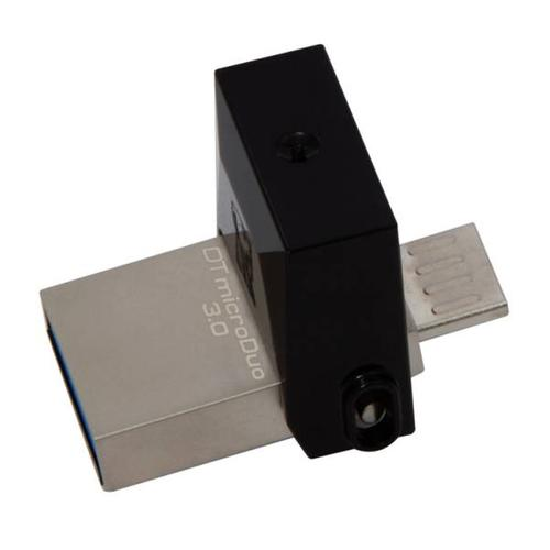Kingston 16GB DataTraveler Micro Duo OTG USB 3.0 / Micro USB Flash Drive - 70MB/s