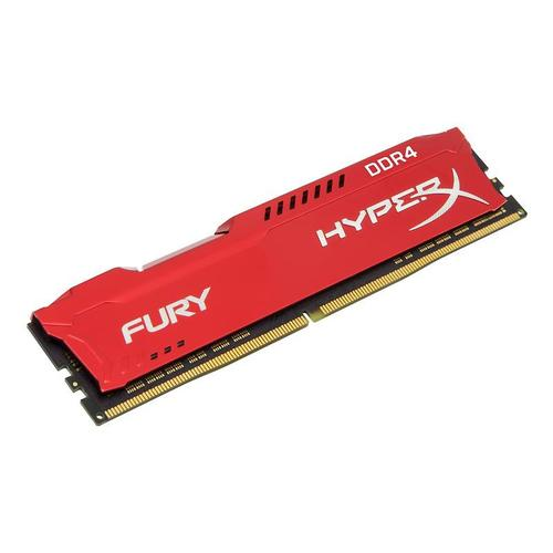 Kingston HyperX FURY Red 8GB (1x 8GB) Memory Module PC4-25600 3200MHz DDR4 CL18 288 Pin DIMM 1.2V
