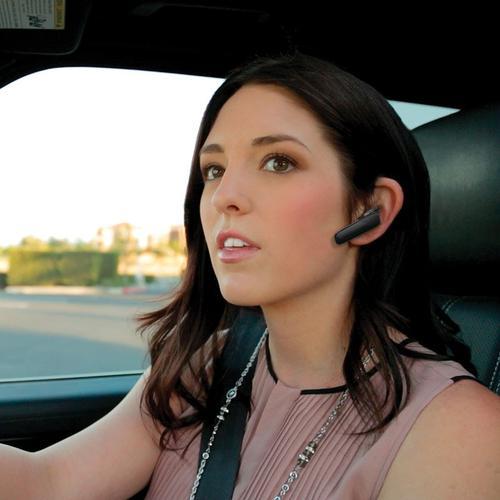 Plantronics Explorer 500 Mobile Bluetooth Headset with Dual Microphones (Black)