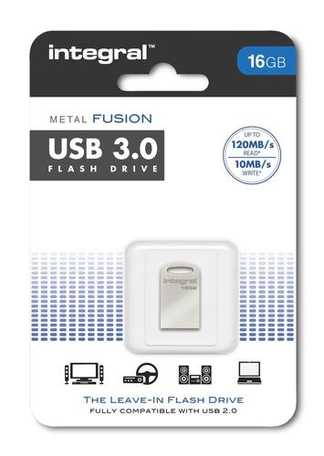 Integral Fusion 16GB USB 3.0 Flash Drive - 120MB/s