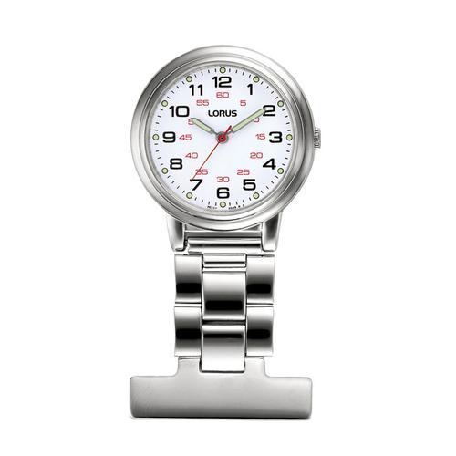 Lorus Stainless Steel Nurses Fob Watch