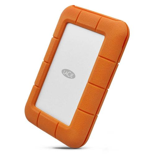 LaCie 500GB Rugged Thunderbolt USB 3.0 BUS Portable SSD 256-bit AES - 510MB/s