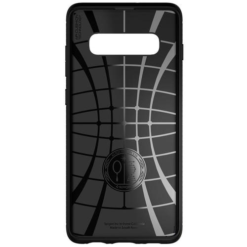 Spigen Samsung Galaxy S10+ Case Rugged Armor - Matte Black