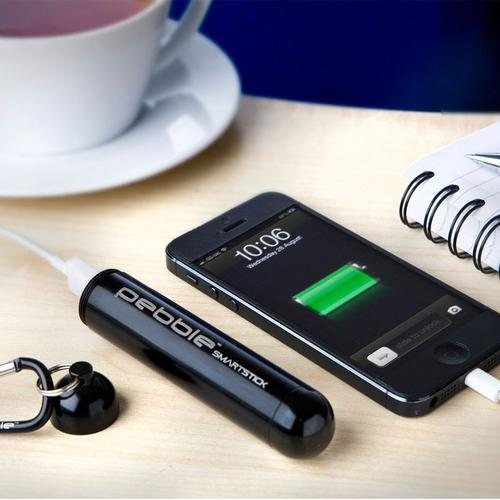 Veho Pebble Smartstick Plus 2,800mAh Portable Power Bank (Black)