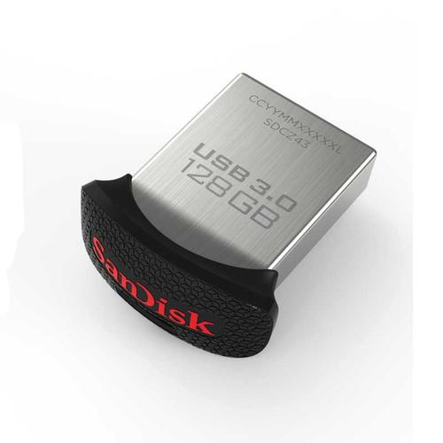 SanDisk 128GB Ultra Fit USB 3.0 Flash Drive - 150MB/s