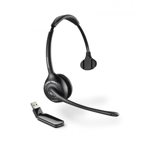 Plantronics W410A Savi Monaural UC DECT Wireless Headset