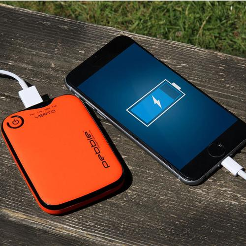 Veho Pebble Verto 3,700mAh Portable Power Bank (Orange)