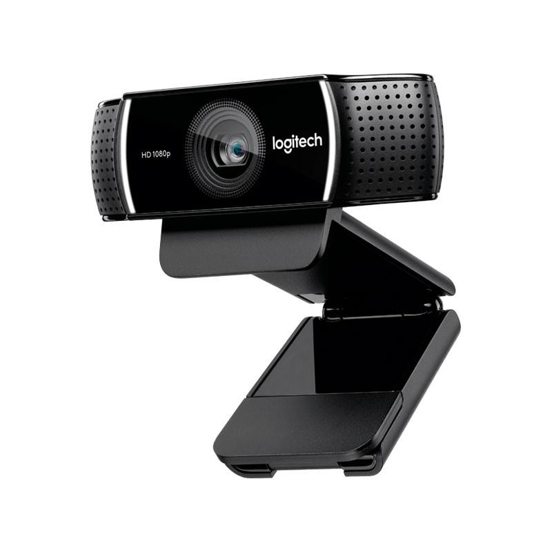 Logitech C922 Pro Stream Webcam Full HD 1080p with Tripod - Black