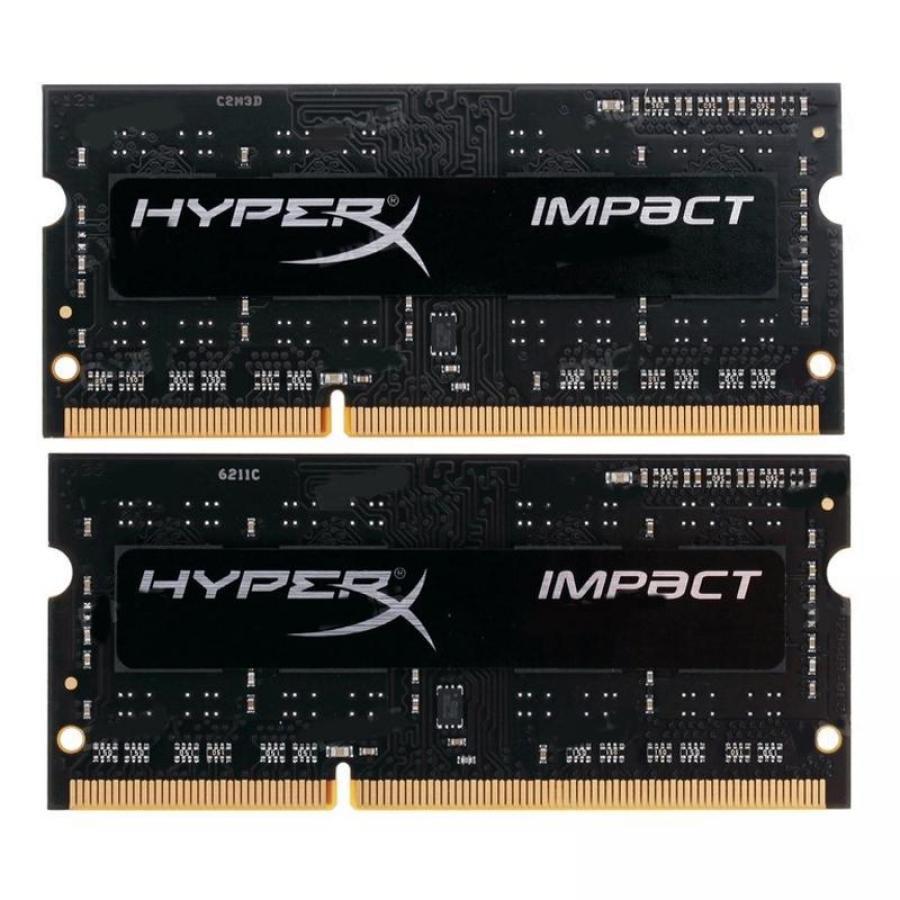 HyperX Impact 8GB (2x4GB) Memory Kit 2133MHz DDR3L 204-pin Non-ECC CL11 1.35V SO-DIMM Unbuffered