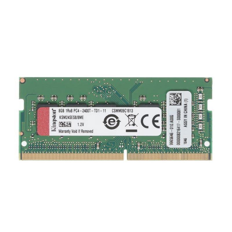 Kingston 8GB (1x8GB) Server Premier Memory 2400MHz 260-Pin CL17 DDR4 ECC SODIMM 1Rx8