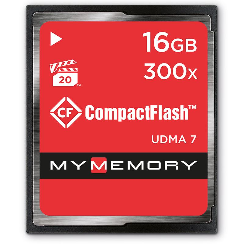 MyMemory 16GB 300X Compact Flash - 45MB/s
