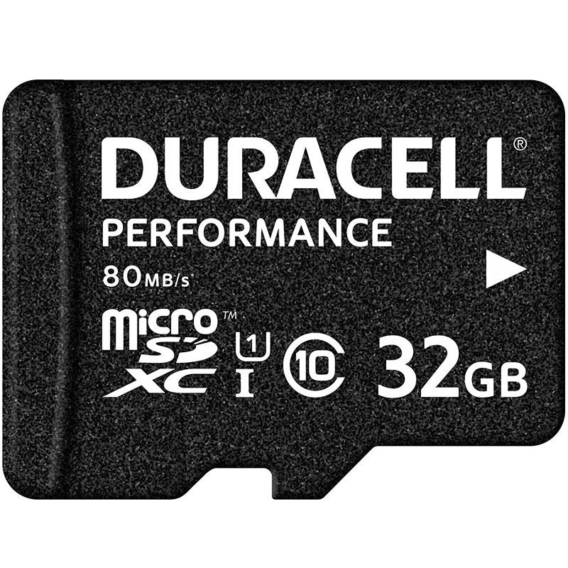 Duracell Performance 32GB Micro SD Card (SDHC) UHS-I U1