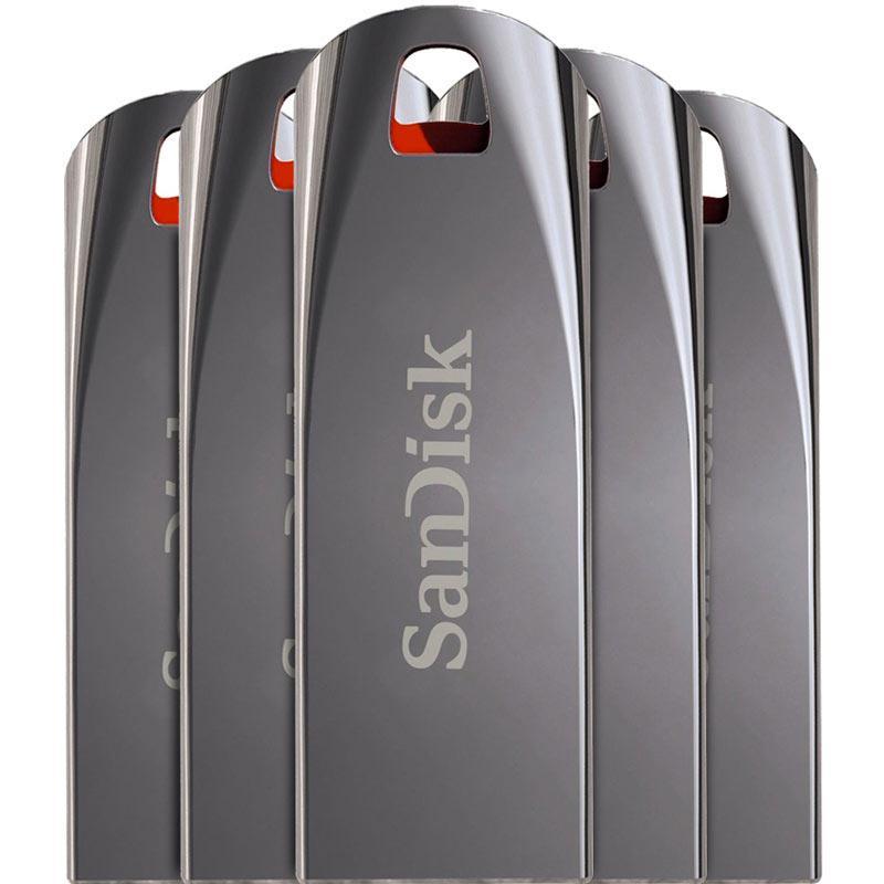 SanDisk 8GB Cruzer Force USB 2.0 Flash Drive - 5 Pack