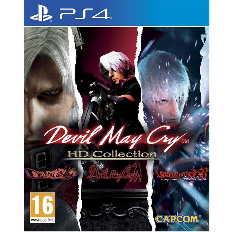 Devil May Cry - HD Collection (Sony PS4)