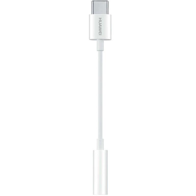 Huawei USB-C to 3.5 mm Headphone Jack Adapter - White (CM20)