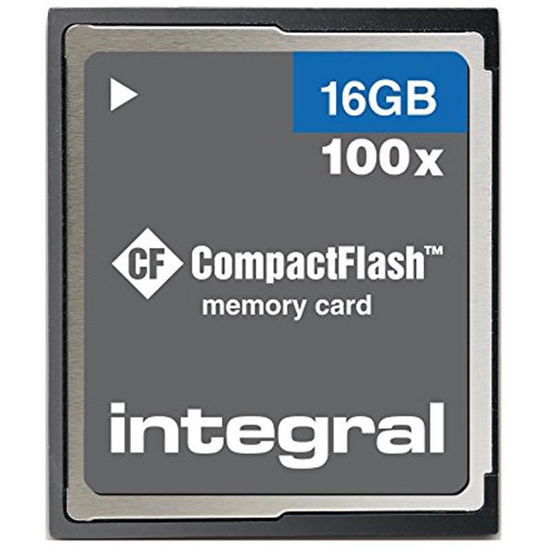Integral 16GB Compact Flash Card