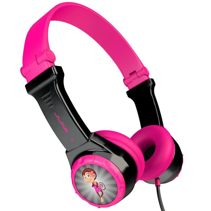 JLab JBuddies Folding Kids Headphones - Pink