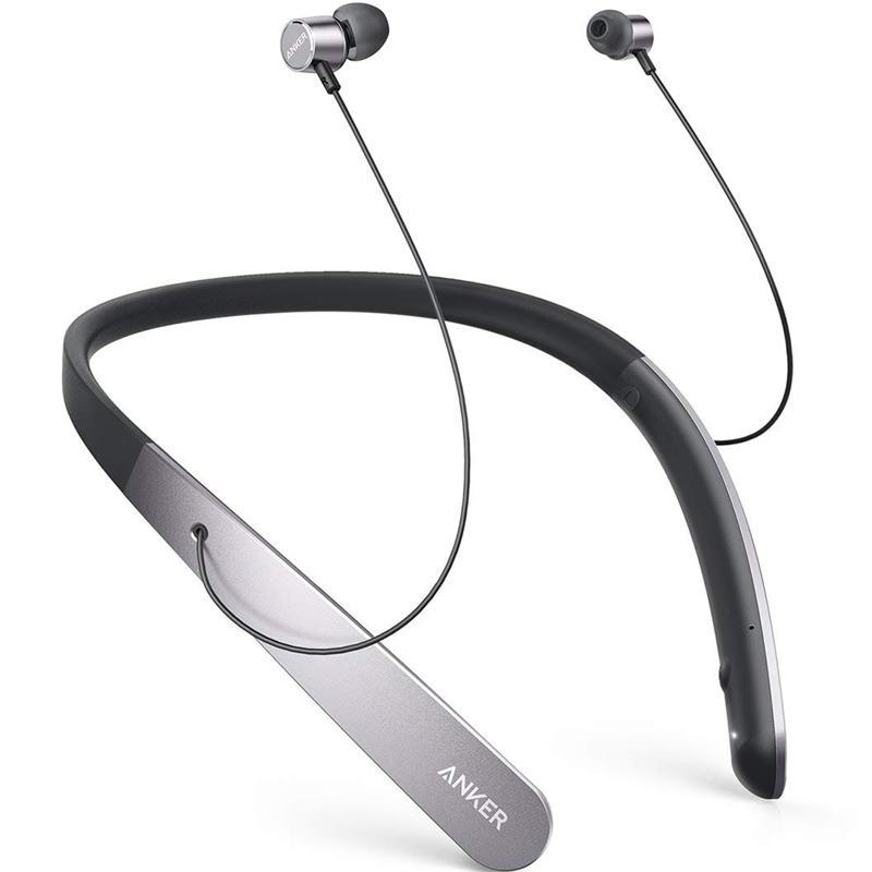 Anker SoundBuds Life Wireless Neckband Headphones EU - Black/Grey