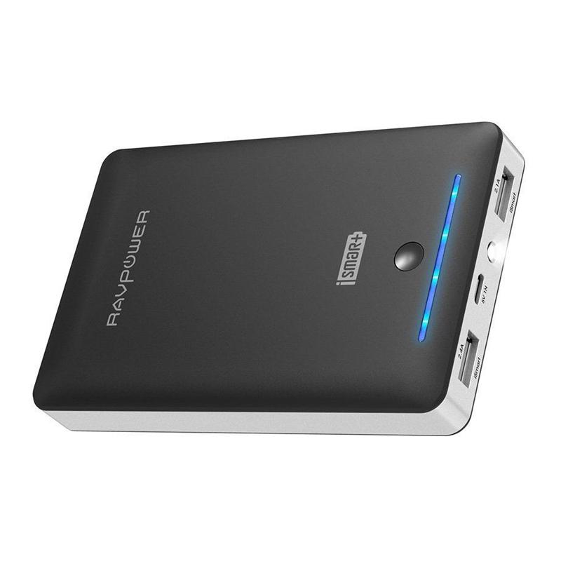 RAVPower 2.4A 16750mAh Portable Power Bank - Black