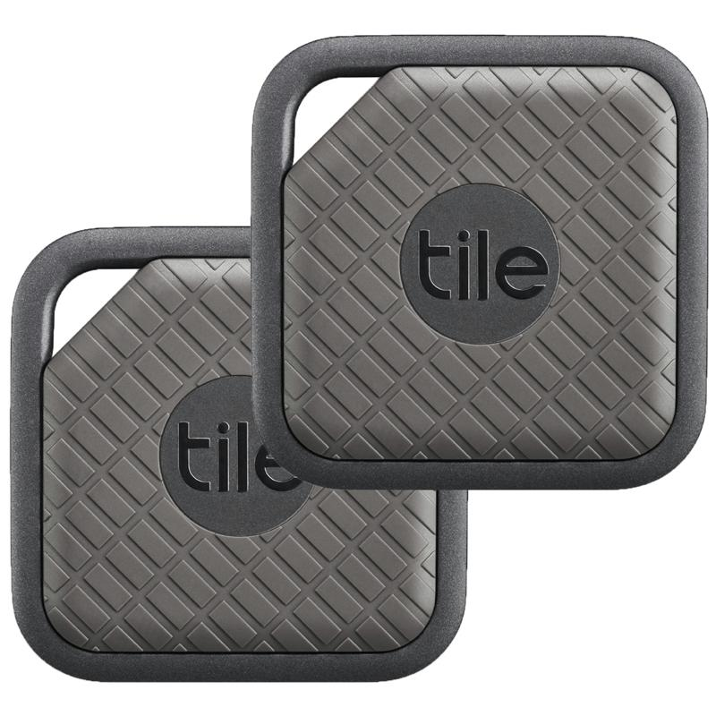 Tile Sport Key and Phone Finder 2 Pack - Graphite