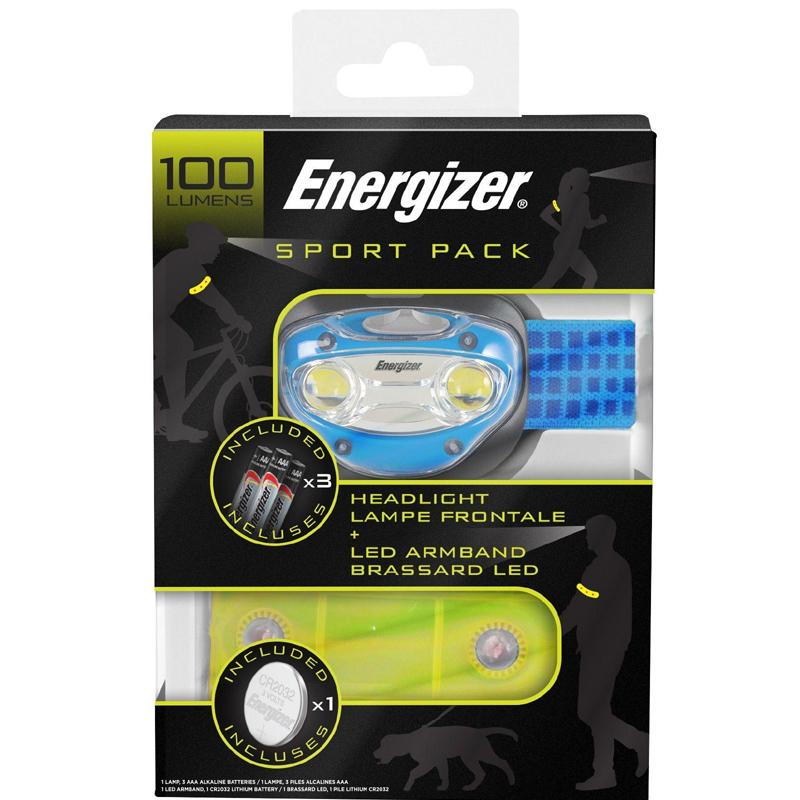 Energizer Sport Gift Pack - Headlight and LED Armband